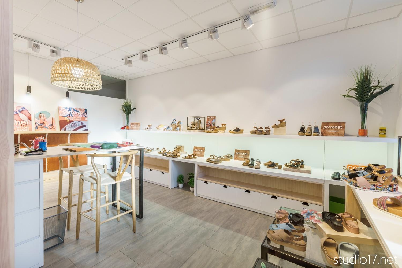Showroom porronet madrid interiorismo comercial studio17 - Interiorismo madrid ...