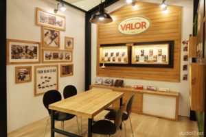 chocolates valor, diseño de stands, studio17